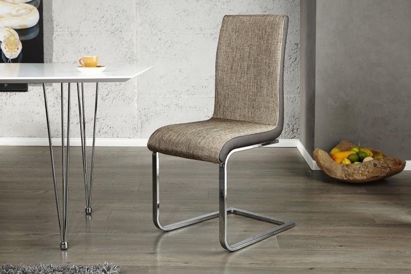 Jedálenská stolička ST.PAULE CAPPUCCINO - béžová