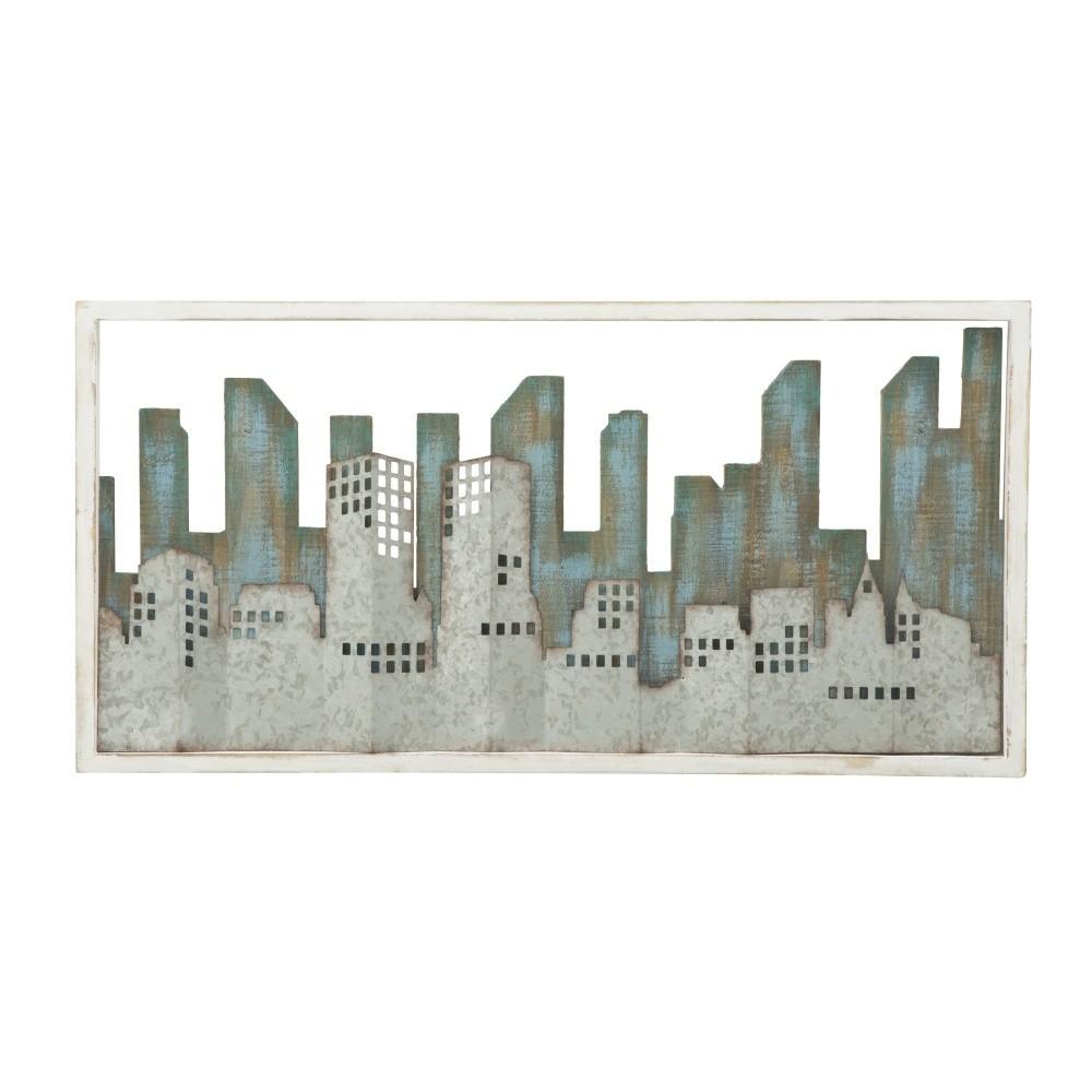 Nástenná dekorácia Mauro Ferretti Metropolis, 80 x 60 cm