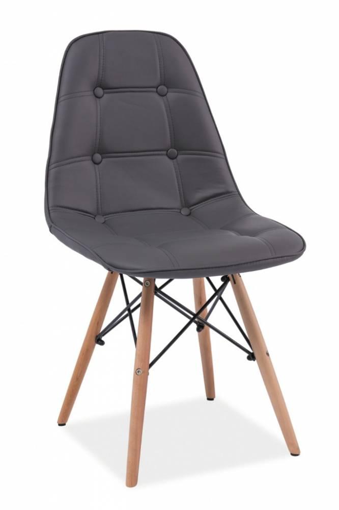 SIGNAL AXEL jedálenská stolička - šedá