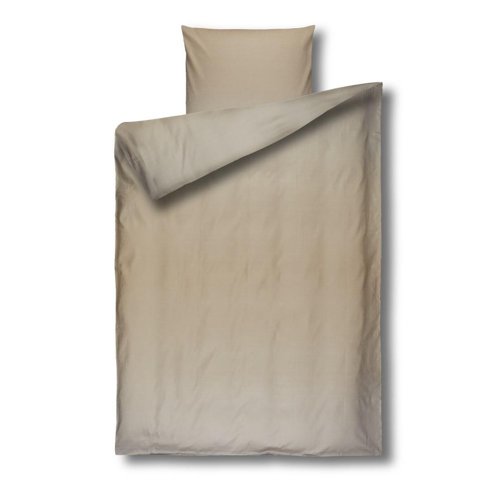 Béžové damaškové obliečky Casa Di Bassi Basic, 155×200 cm