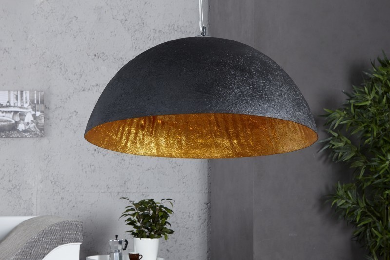 Visiaca lampa NEMESIS - čierna/zlatá