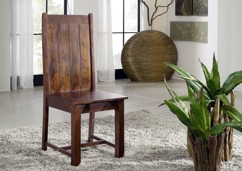 MAMMUT OXFORD #611 Kolonialstil stolička, masívne agátové drevo