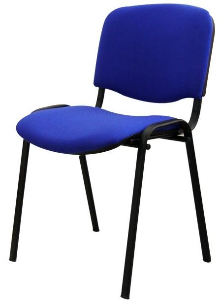 Konferenčná stolička Iso New modrá *výpredaj