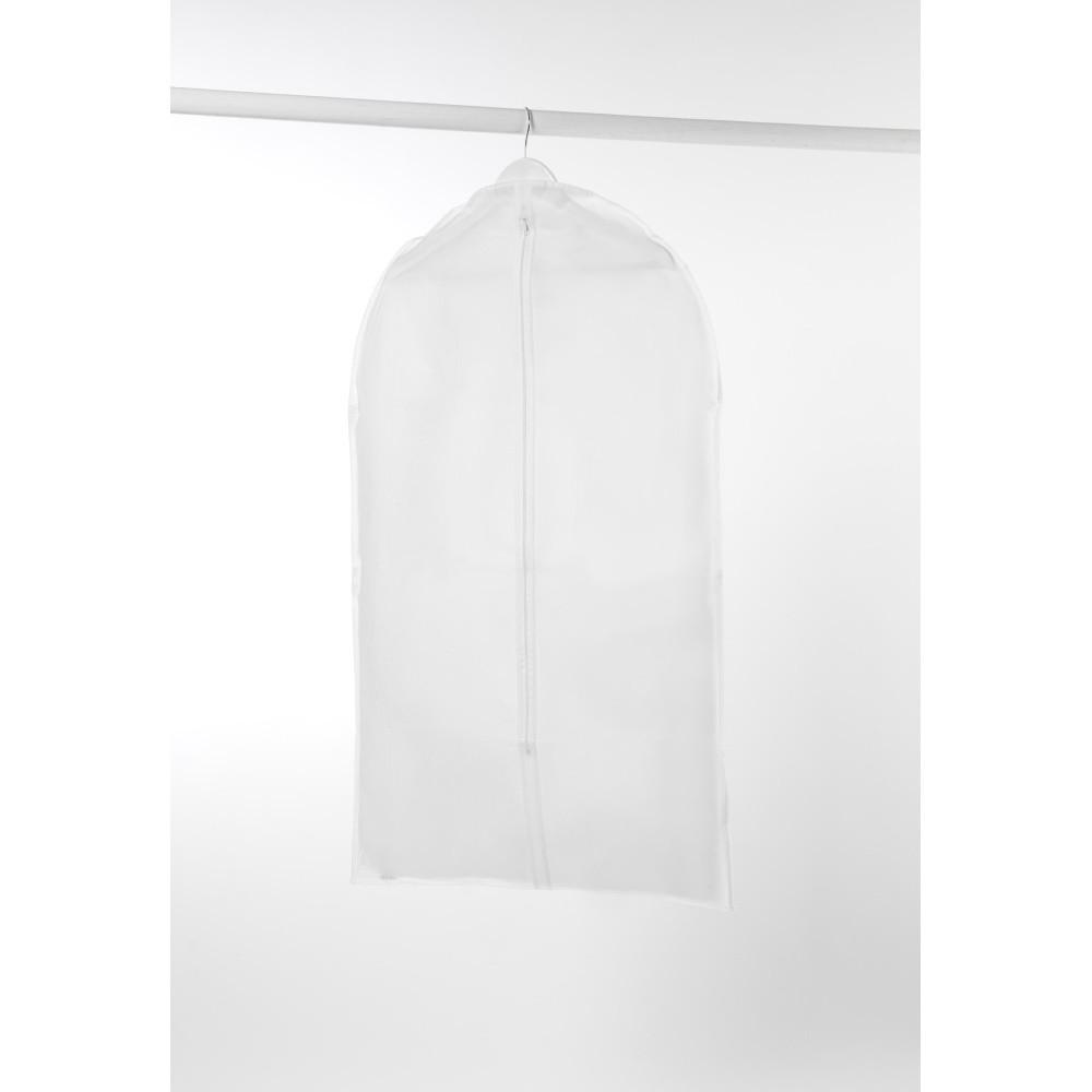 Biely obal na šaty Compactor Milky