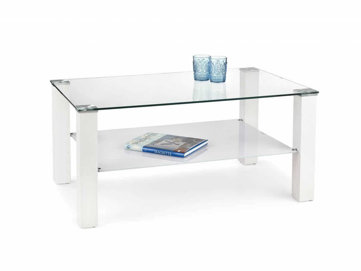 Konferenčný stolík Ventura (biela)