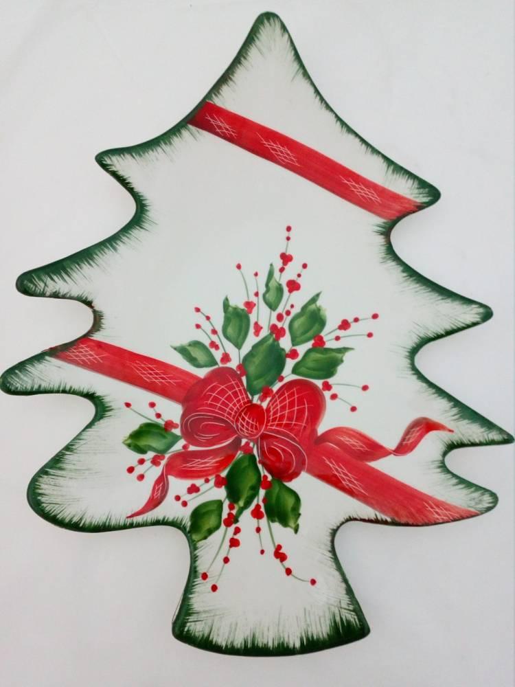 Vianočný podnos STROMČEK BR