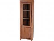 Furniture nábytok  Masívna knižnica / vitrína z Palisanderu  Rází  65x45x190 cm
