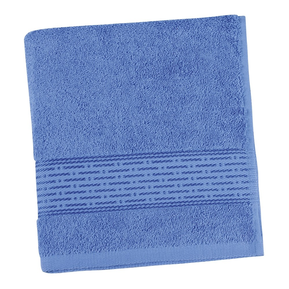 Bellatex Froté uterák Kamilka prúžok modrá, 50 x 100 cm