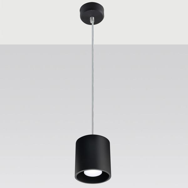 Závesné svetlo Nice Lamps Roda 1 Black