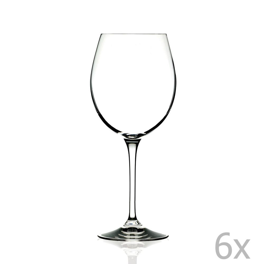 Sada 6 pohárov na víno RCR Cristalleria Italiana Romilda