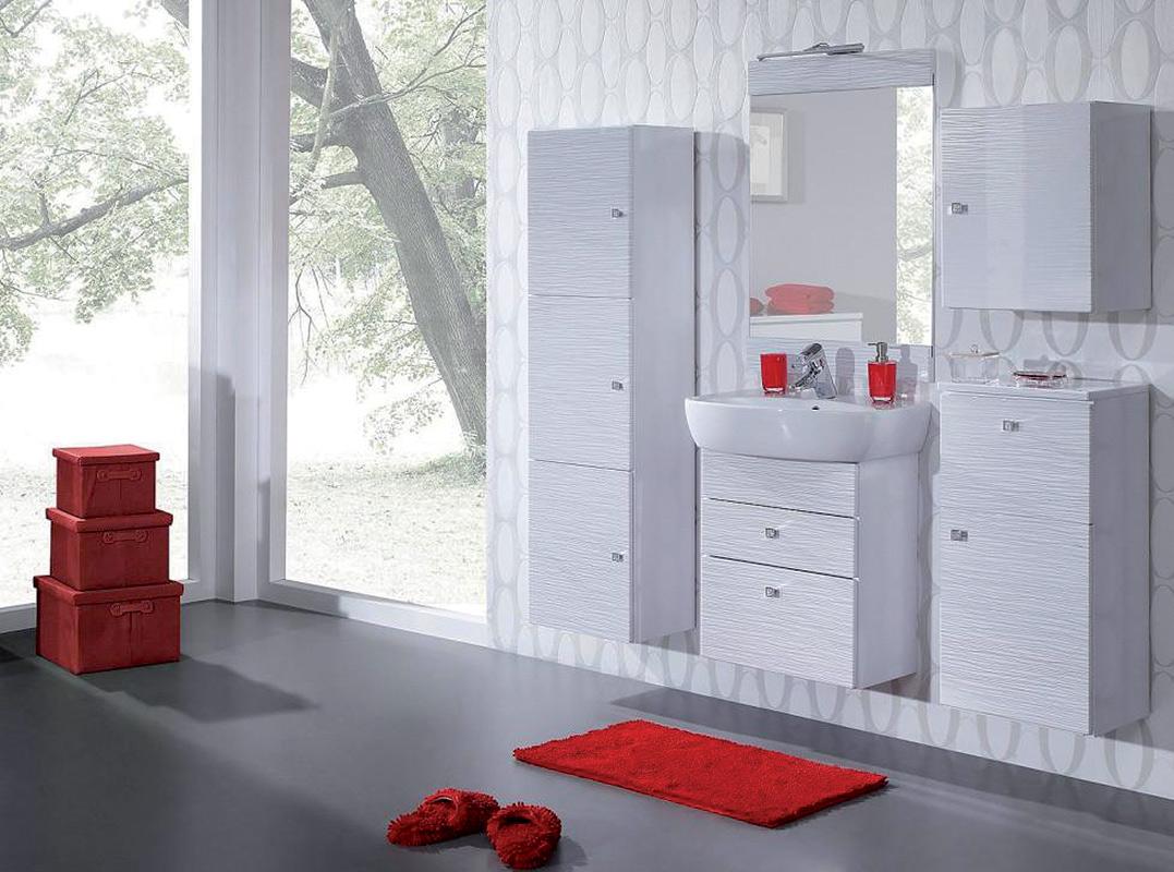 MEVEA kúpeľňová zostava, biela