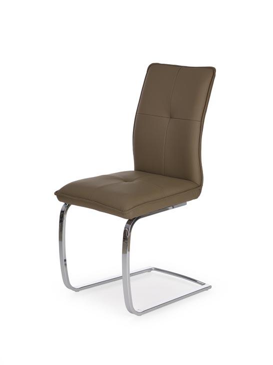 Jedálenská stolička K252 (hnedá)