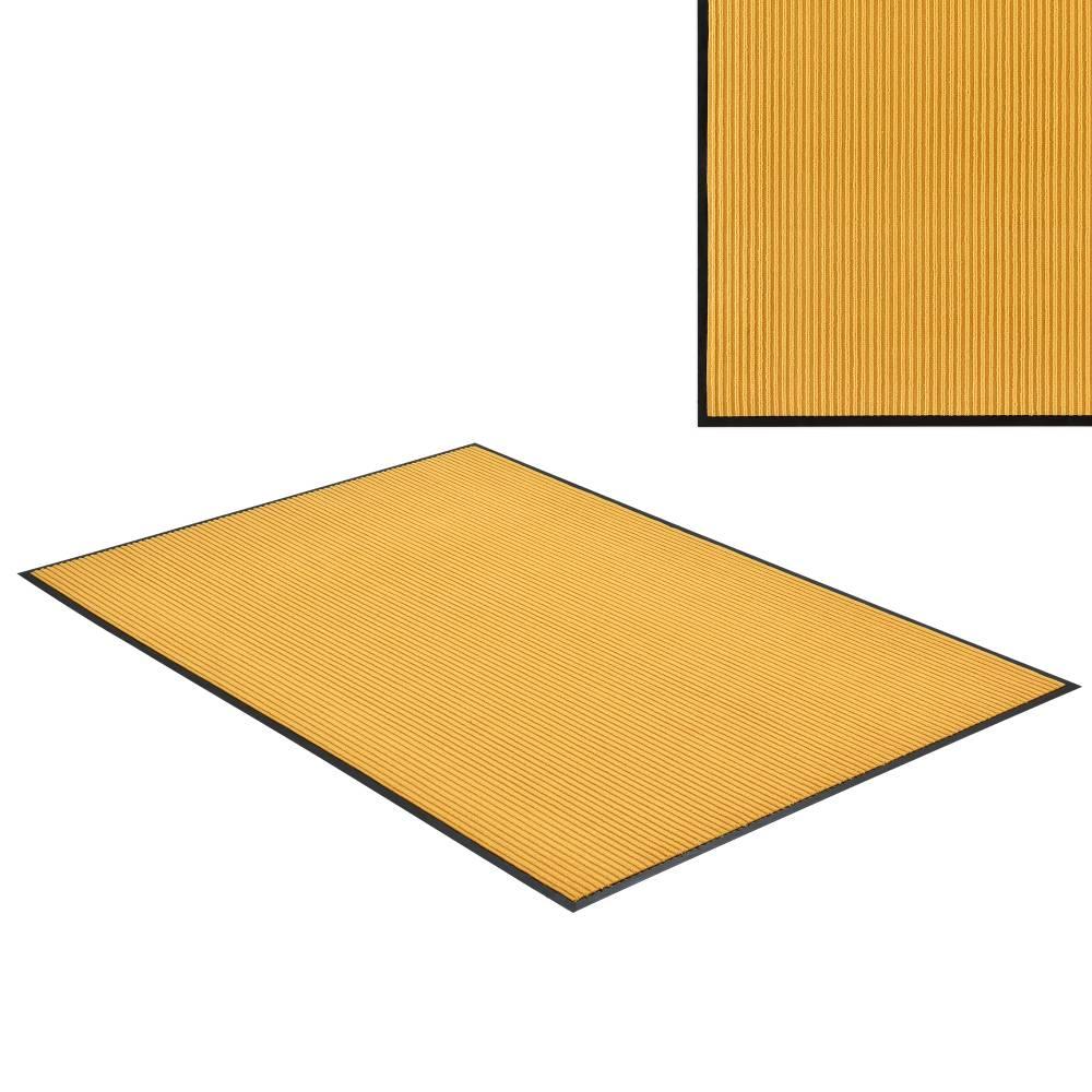 [en.casa]® Rohožka - koberc - 240 x 180 cm - horčicovo žltá