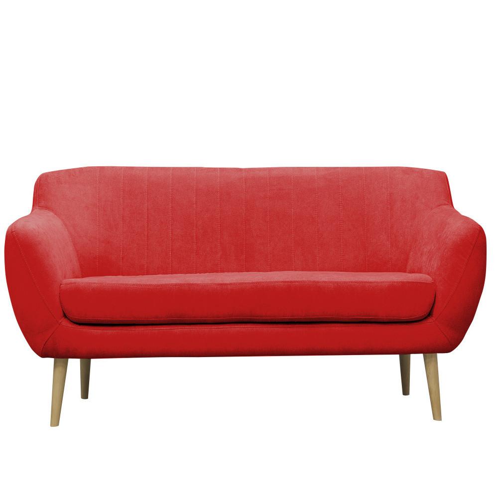 Červená pohovka pre troch Mazzini Sofas Sardaigne