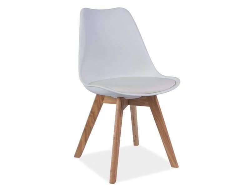 Biela stolička Signal Kris