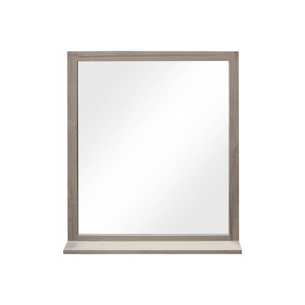 Zrkadlo sivá antik