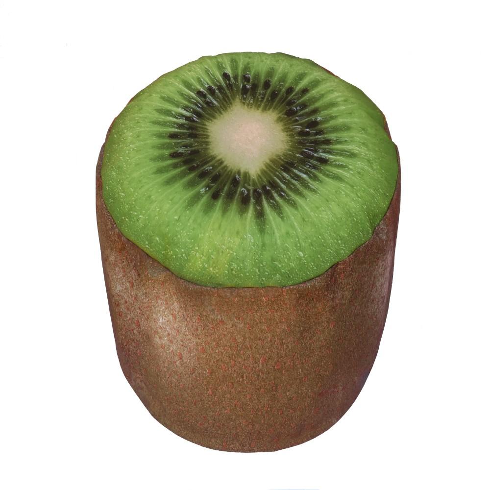 Nafukovací puf v tvare kiwi Sunvibes