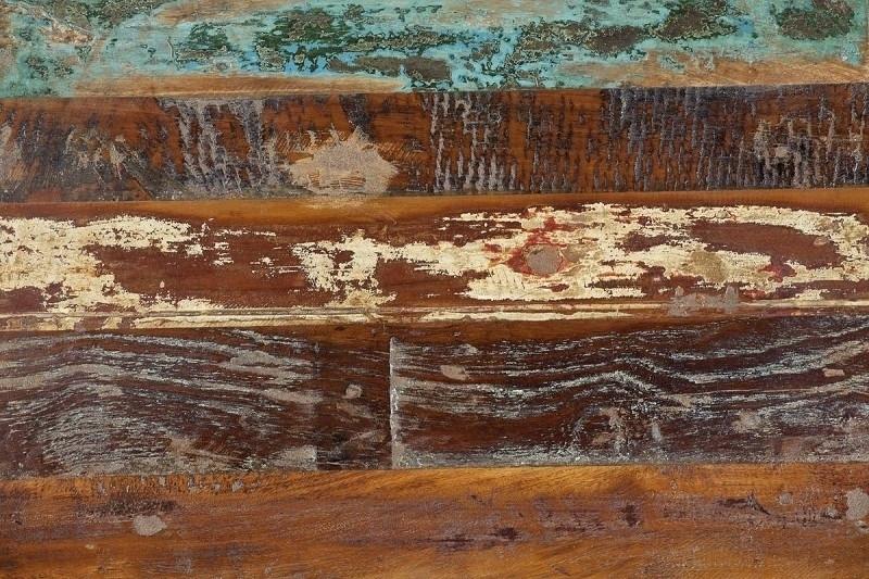 SPIRIT vzor, lakované staré indické drevo