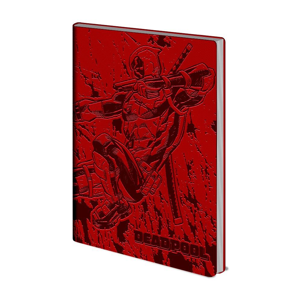 Linajkový zápisník A5 Pyramid International Deadpool, 72 strán