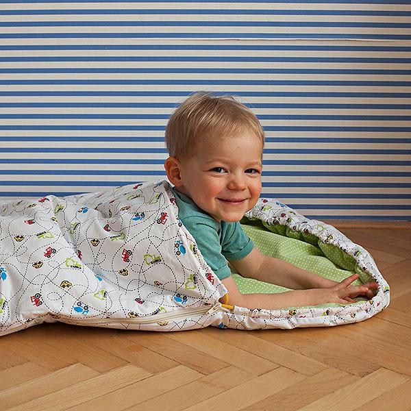 Detský spací vak Bartex Autíčka, 50x100cm