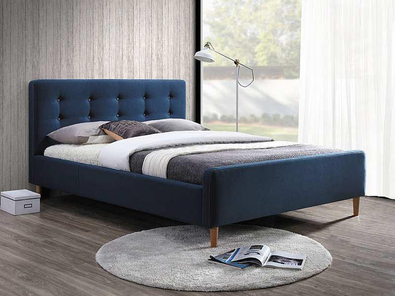 Manželská posteľ 160 cm Pinko (s roštom)