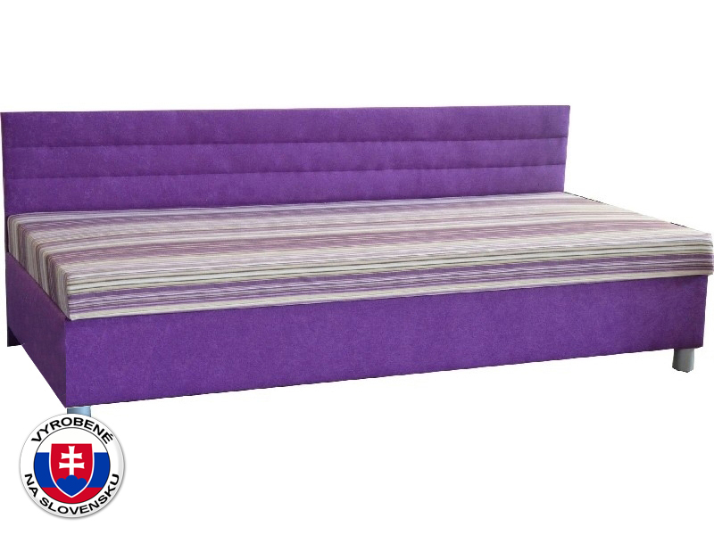 Jednolôžková posteľ (váľanda) 100 cm Etile 1 (so sendvičovým matracom)
