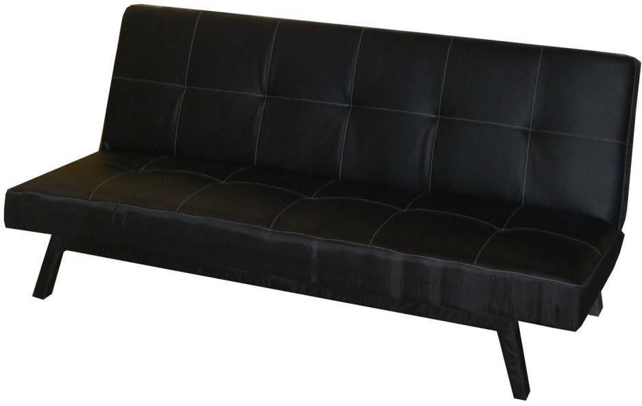 Pohovka BARCELONA čierna