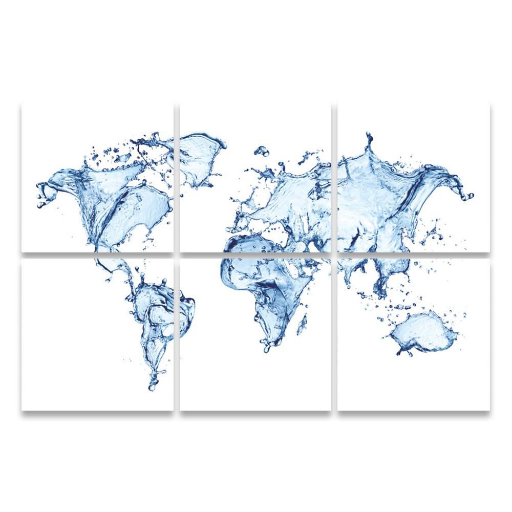 Autronic Viacdielny obraz World