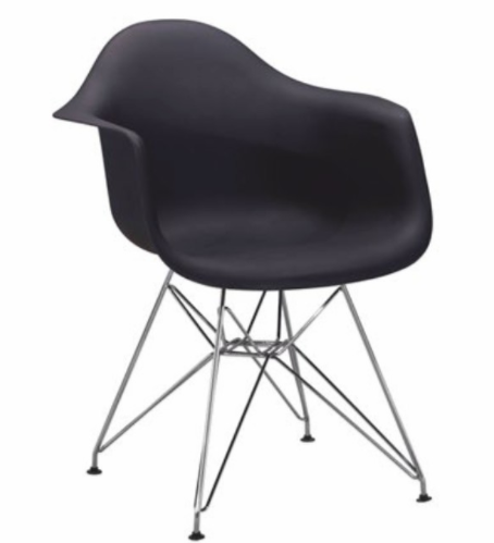 Jedálenská stolička Feman New   Farba: Čierna