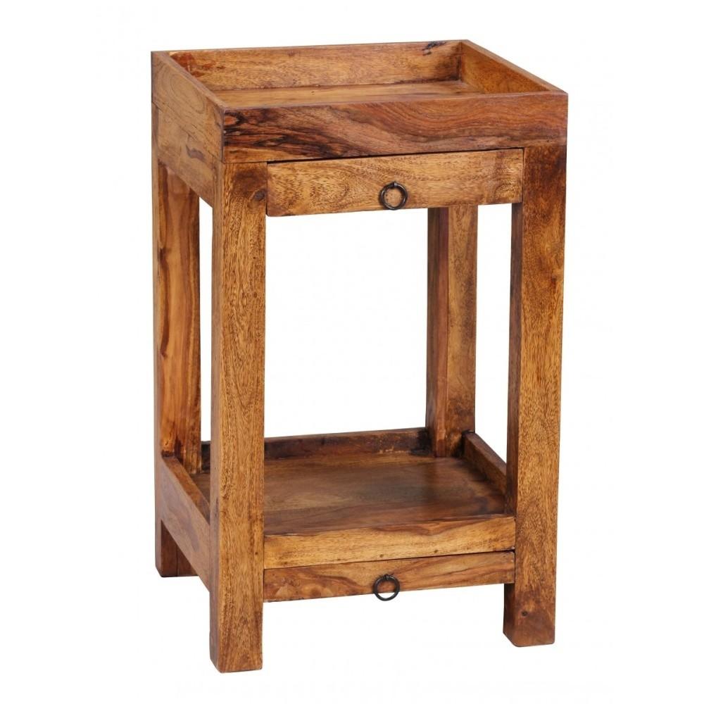 Odkladací stolík z masívneho palisandrového dreva Skyport Marilú