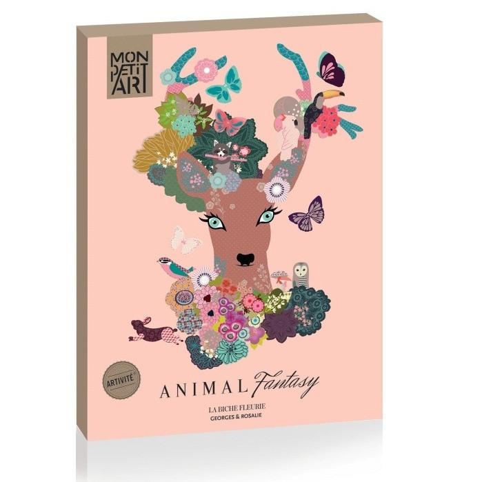 Sada kreatívnych dekorácií Mon Petit Art Animal Fantasy