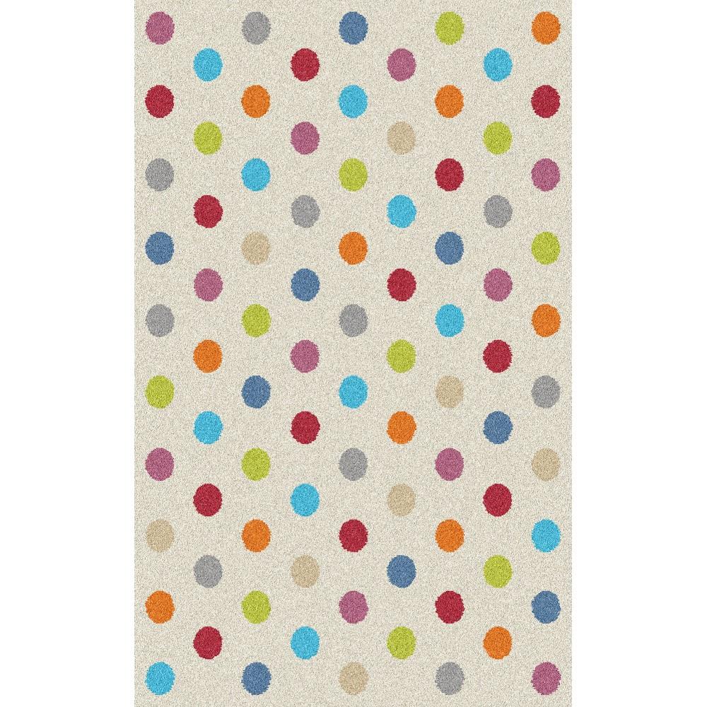 Koberec Universal Norge White Dots, 57 x 110 cm