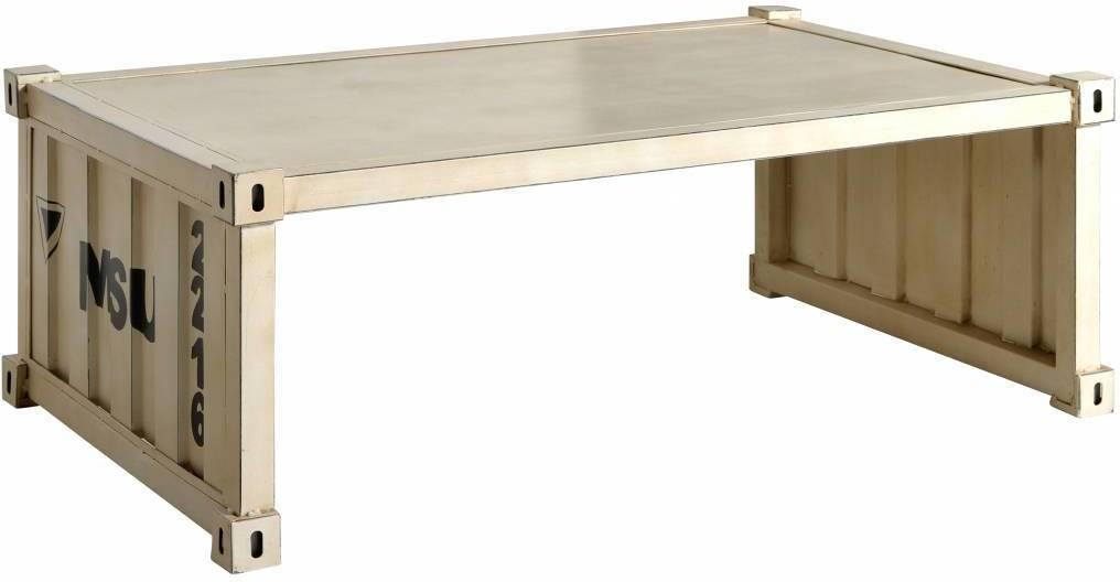 Konferenčný stolík HYGHPAP - krémová