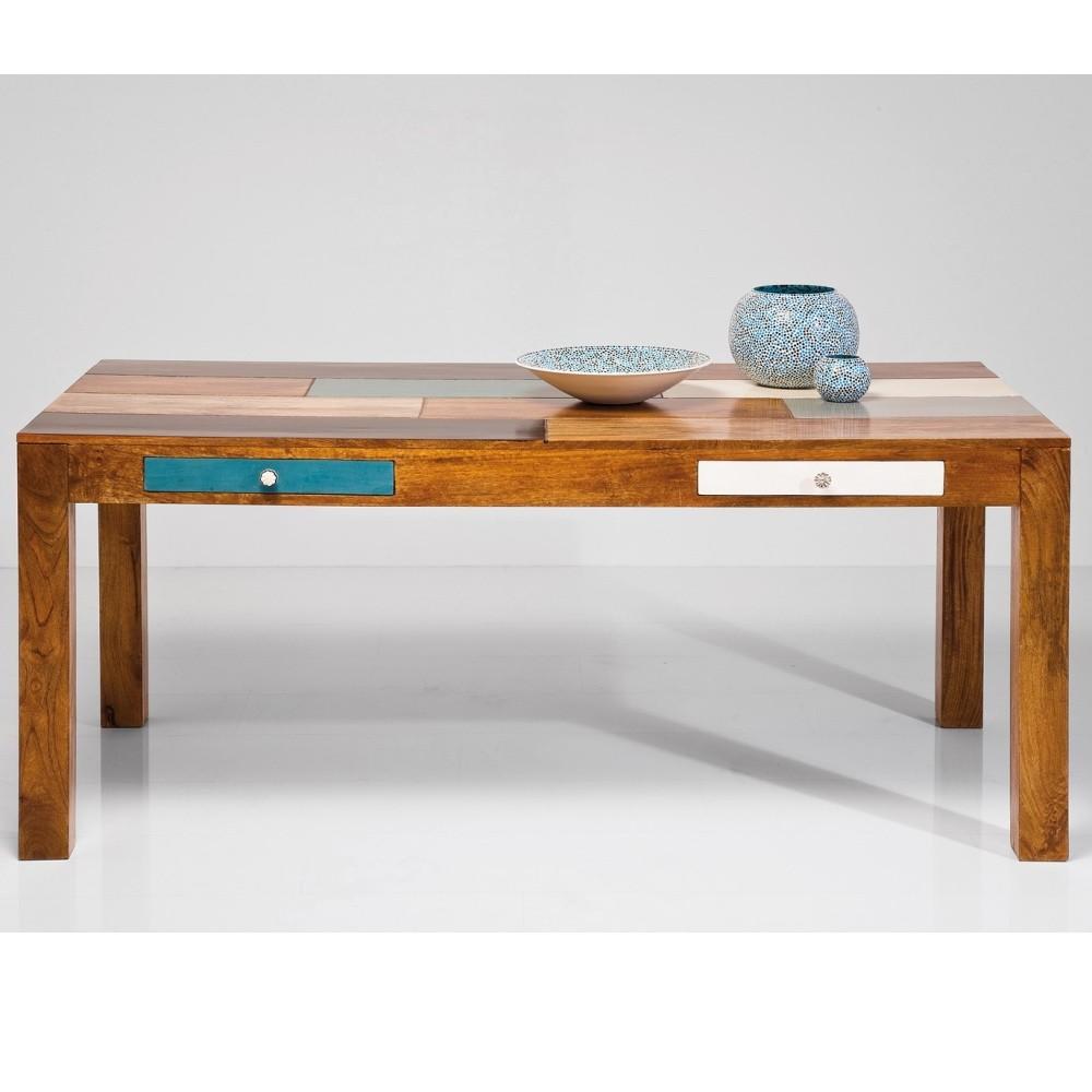 Jedálenský stôl z mangového dreva Kare Design Blabau, 180 x 90 cm