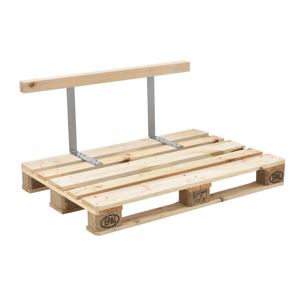 [en.casa]® Operadlo dokonale zapadá do drevených paliet.