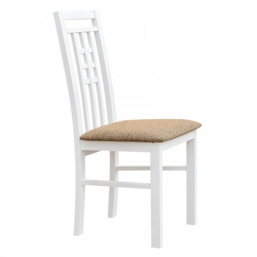 Biely nábytok Stolička Belluno Elegante 31, čalúnenie PALERMO 123