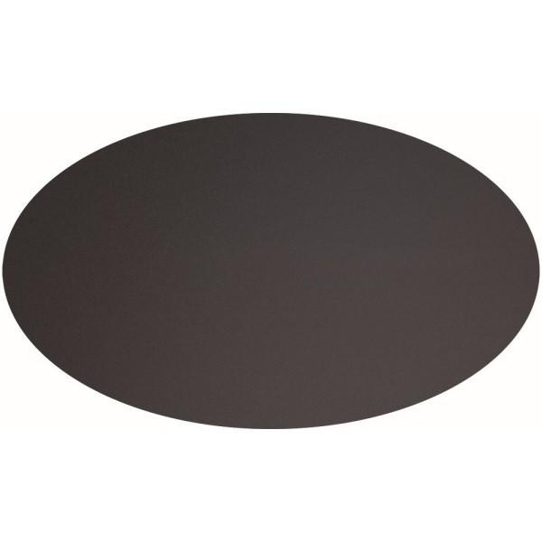 Sada 8 písacích štítkov Securit Oval Chalkboard, 8,5 x 5 cm