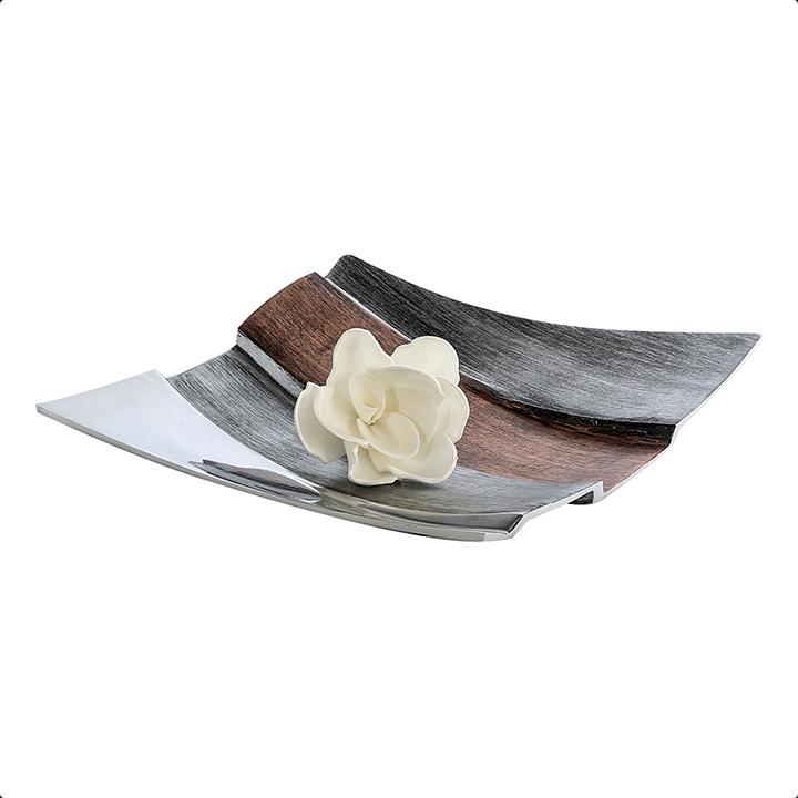 Bighome - Dekoratívny tanier BAY 31 cm - viacfarebná