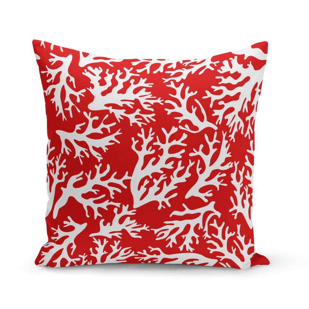 Vankúš Kate Louise Red Coral Reef, 43 x 43 cm