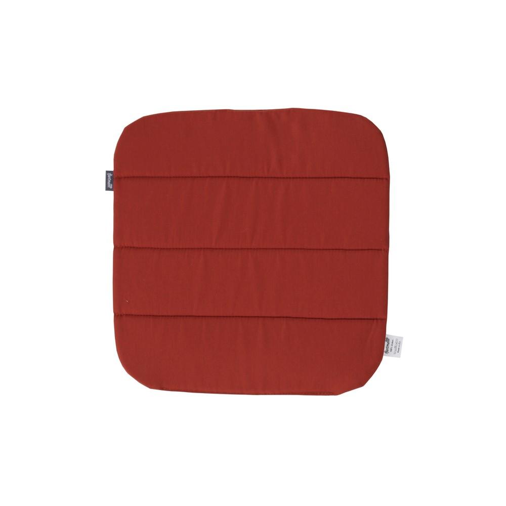 Červený protišmykový záhradný podsedák Hartman Sophie, 40 × 40 cm