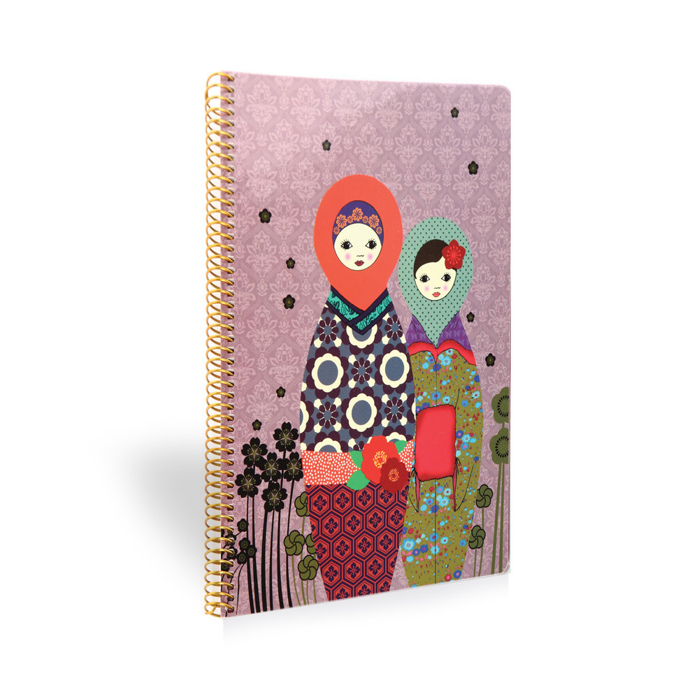 Zápisník Mon Petit Art Matriochkas