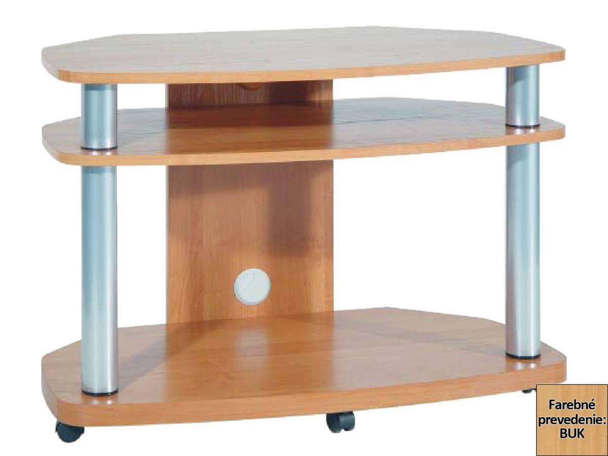Rohový TV stolík Flash 2D (buk) *výpredaj