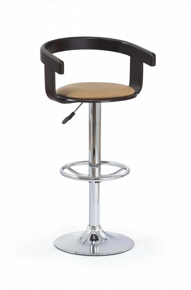 Barová stolička H-8 Wenge + Coffee