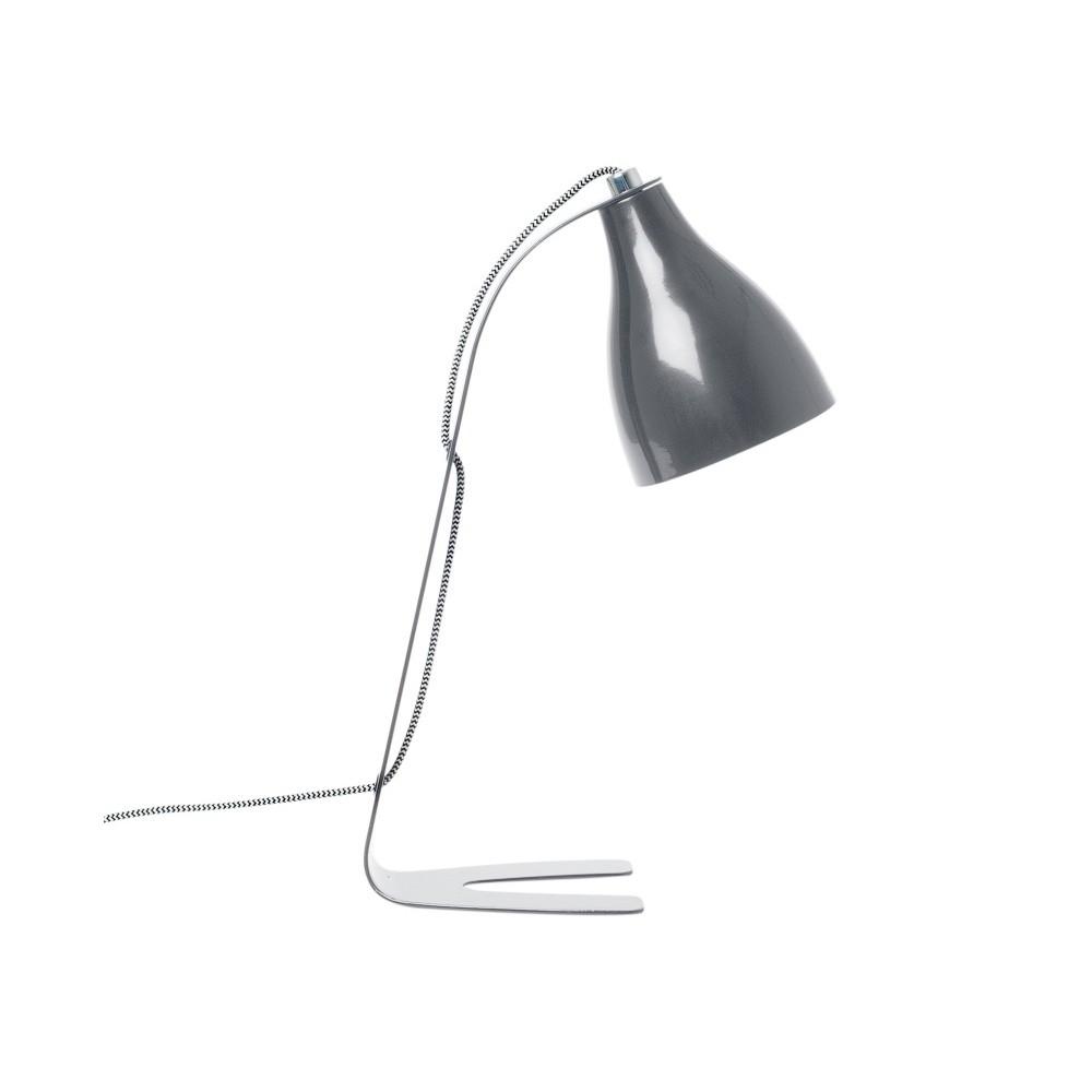 Sivá stolová lampa Leitmotiv Barefoot