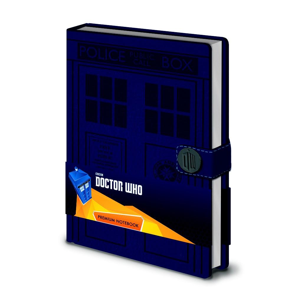 Zápisník A5 Pyramid International Doctor Who, 120 strán