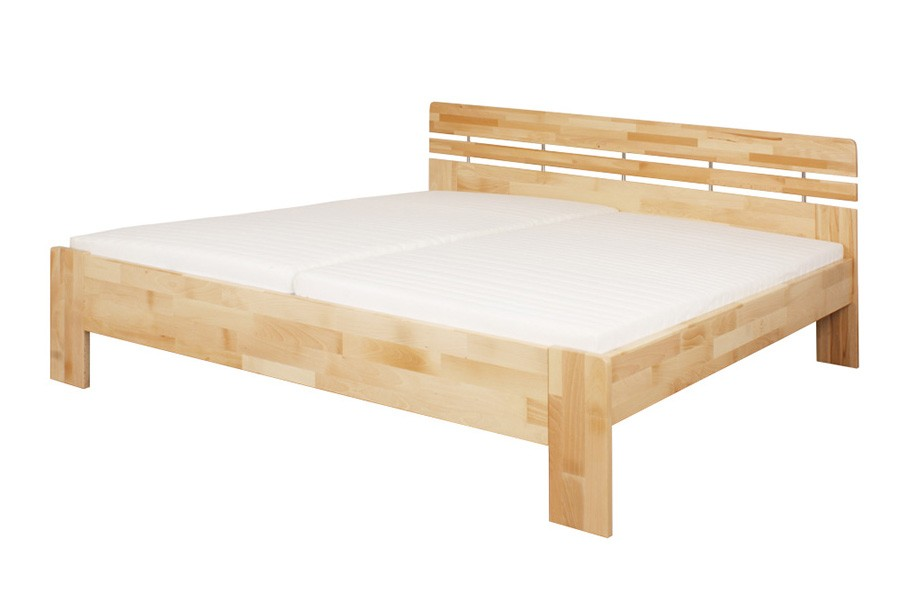 Bradop Manželská posteľ DANIELA 160 x 200, masív buk L045