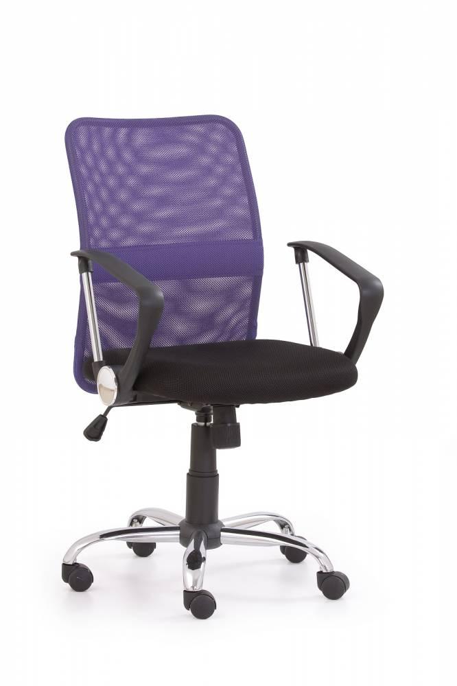 Kancelárska stolička Tony fialová
