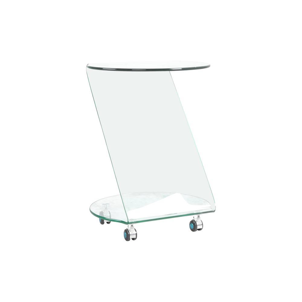 Servírovací stolík sklo