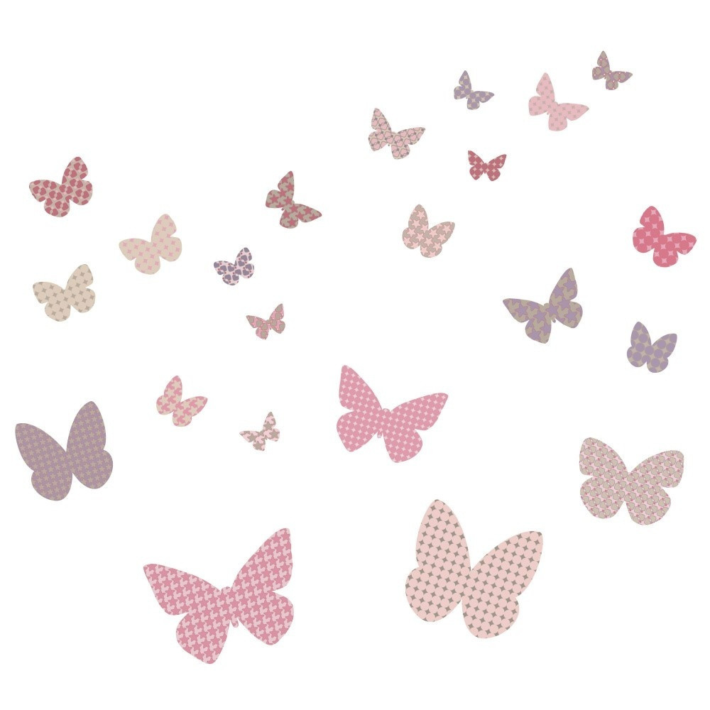 Nástenné samolepky Art For Kids Butterflies