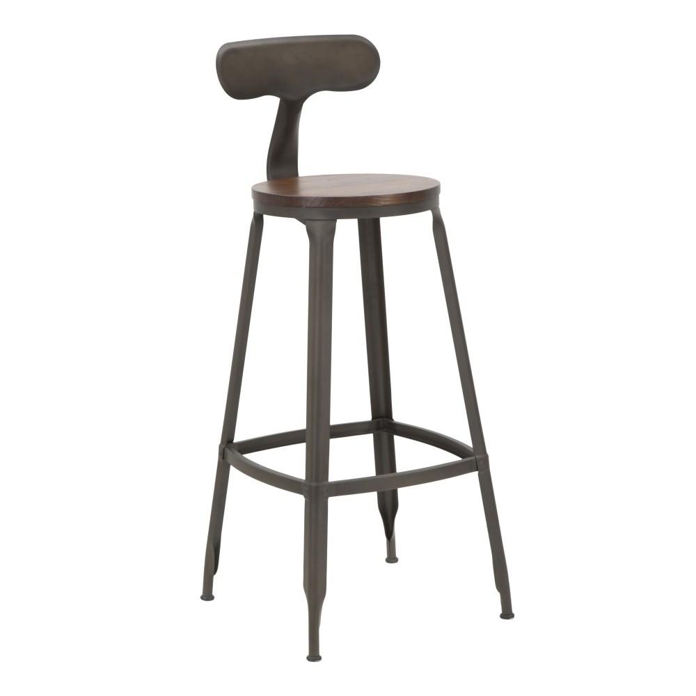 Sada 2 barových stoličiek Mauro Ferretti Harlem, výška 103 cm